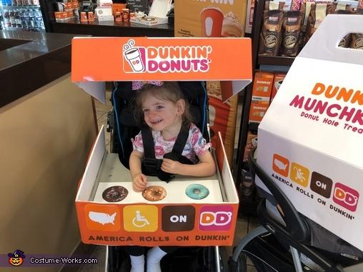 America ROLLS on Dunkin', America ROLLS on Dunkin' Costume