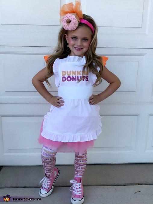America Runs on Dunkin Homemade Costume