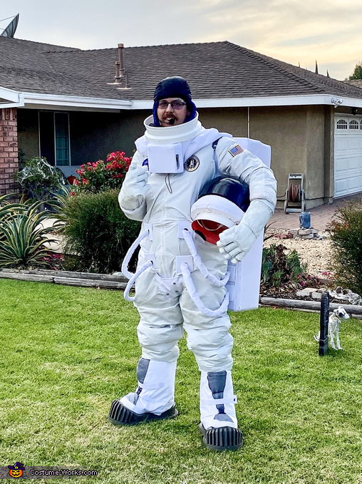 American Astronaut Homemade Costume