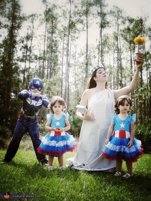 American Family Costume