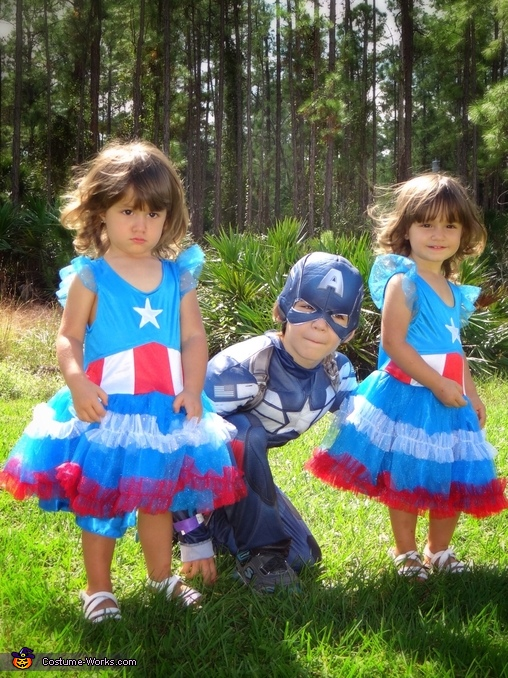 American Family Homemade Costume
