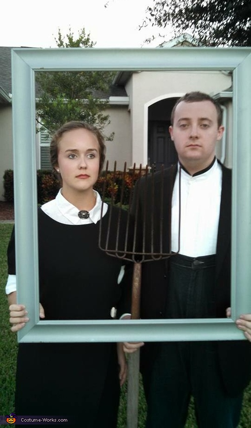 American Gothic Couples Halloween Costume