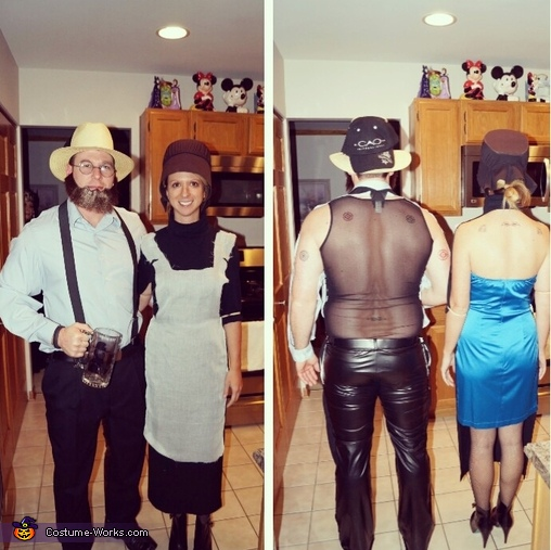 Amish Gone Wild Couple's Costume
