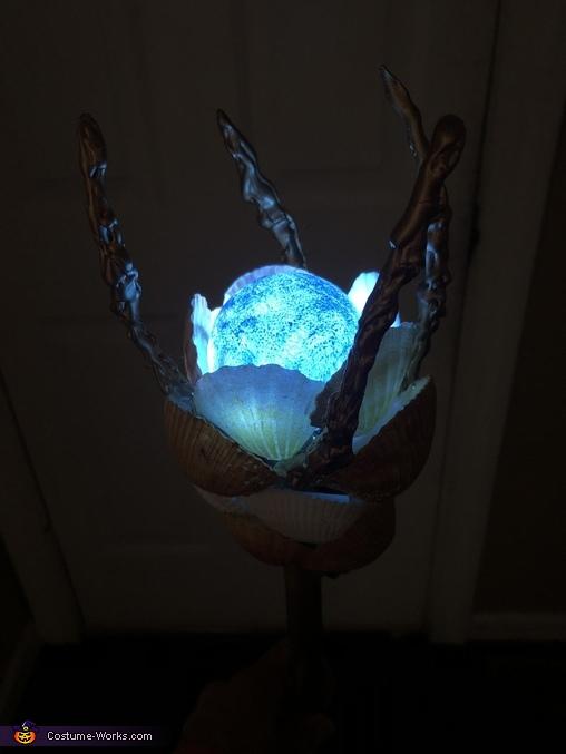 Staff o' Power in the dark, Amphitrite - Sea Goddess Costume