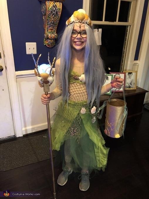 Amphitrite - Sea Goddess Homemade Costume