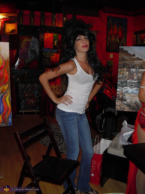 Denise as Amy Winehouse 2, Amy Winehouse Costume