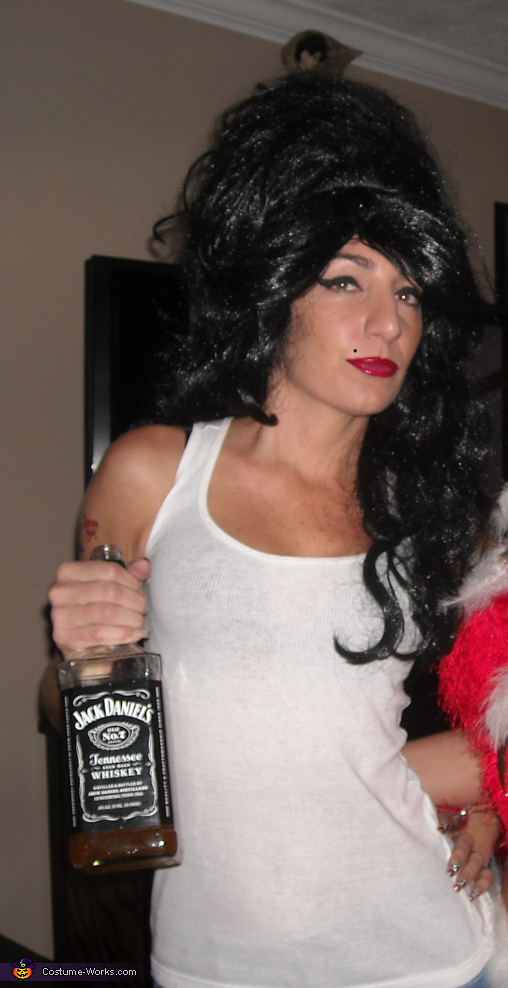 Denise as Amy Winehouse 4, Amy Winehouse Costume