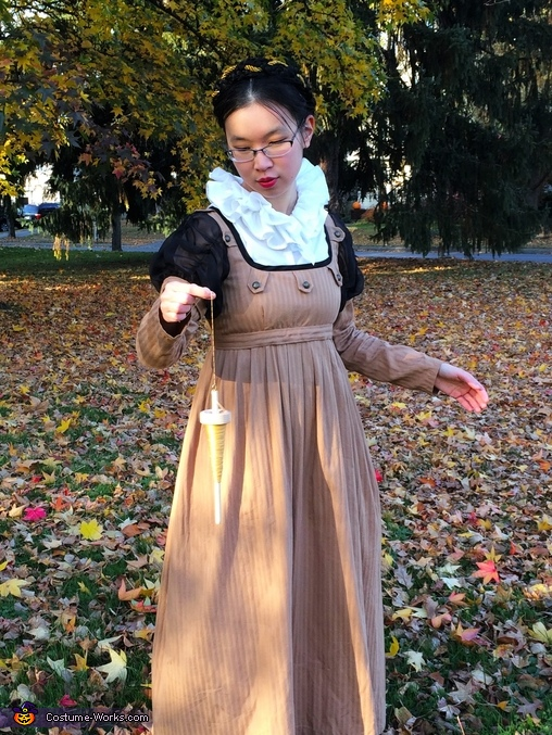 An Autumn Regency Fairy Tale Costume