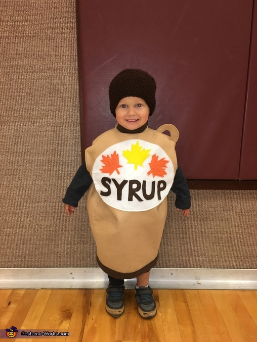 An Elf's major Food Groups Homemade Costume
