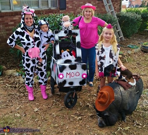 An Udderly Moo-arvelous Halloween Costume