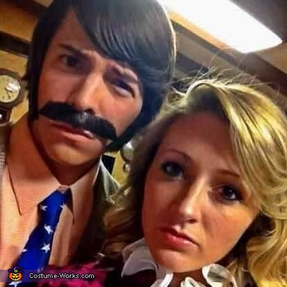 Did you say something to me?, Anchorman Characters Costume