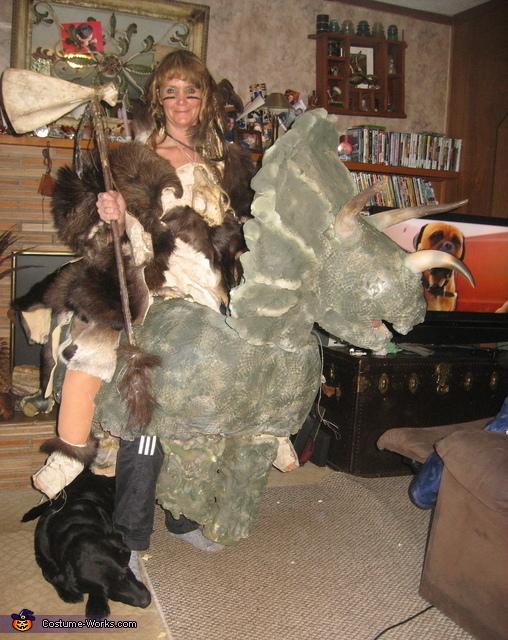 Ancient Dino Warrior Costume