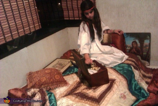 The setting, Ancient Egypt Costume