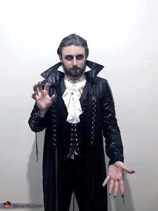 Full Size raised hand, Ancient Vampire Costume