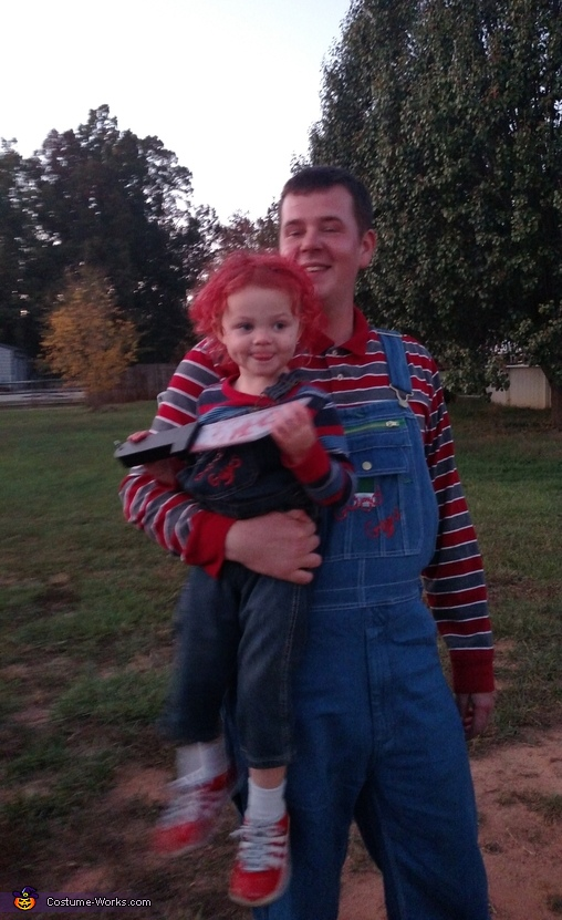 Andy and Chucky Costume