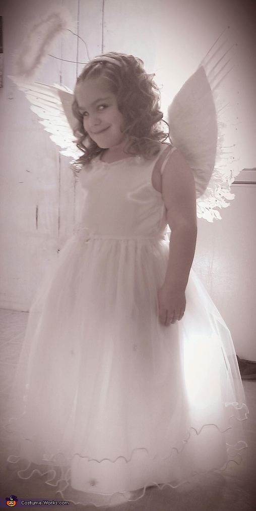 bri angel, Angel Costume
