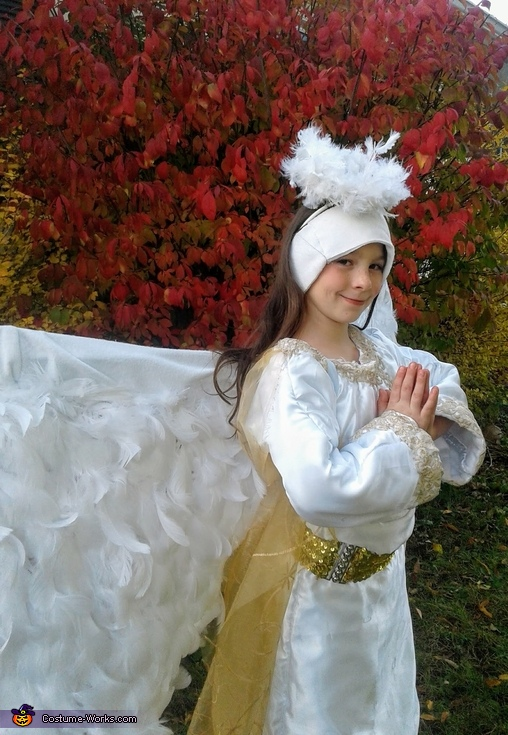 Angel Homemade Costume