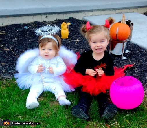 Angel & Devil Divas Baby Costume