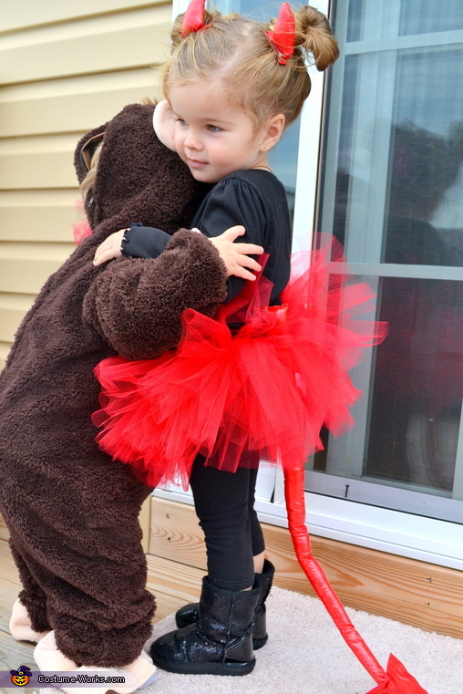 Don't let the sweetness fool you ;-), Angel & Devil Divas Baby Costume