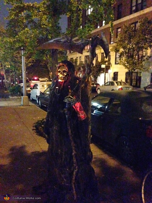 Angel of Death Grim Reaper Homemade Costume