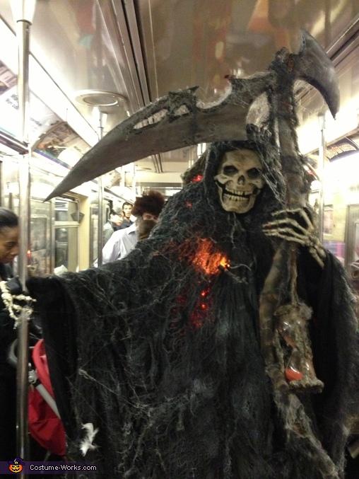 Angel of Death Grim Reaper Homemade Costume