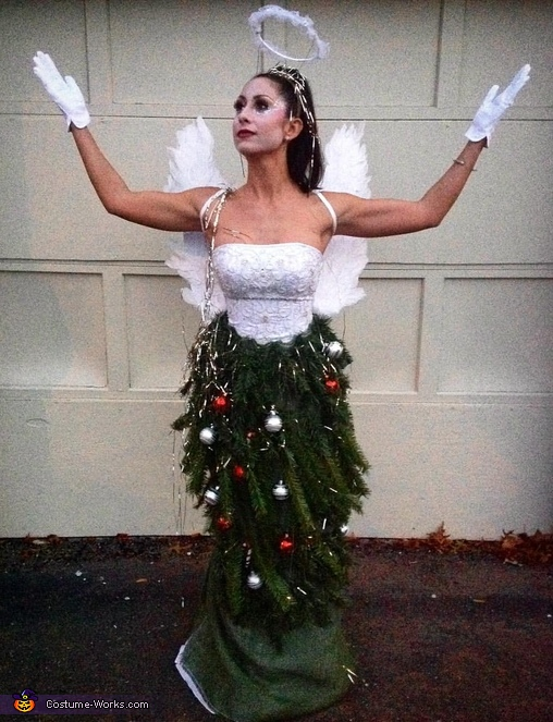 Angel on a Christmas Tree Costume