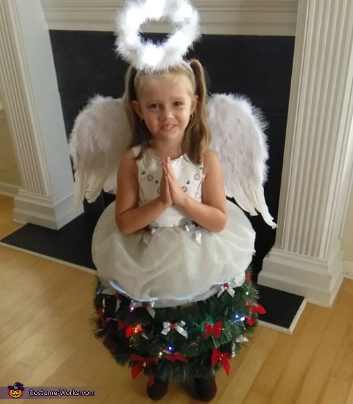 Angel On Top Of The Christmas Tree Costume