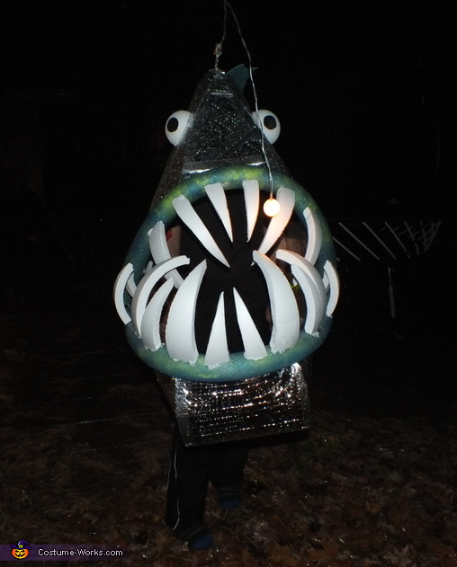 Angler Fish Costume DIY
