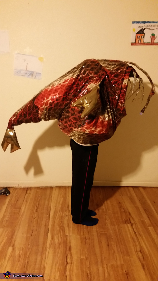 Homemade Angler Fish Costume
