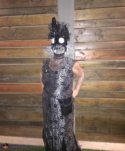 Anglerfish Homemade Costume