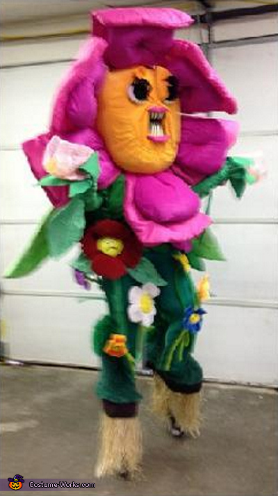 Angry Flower Costume