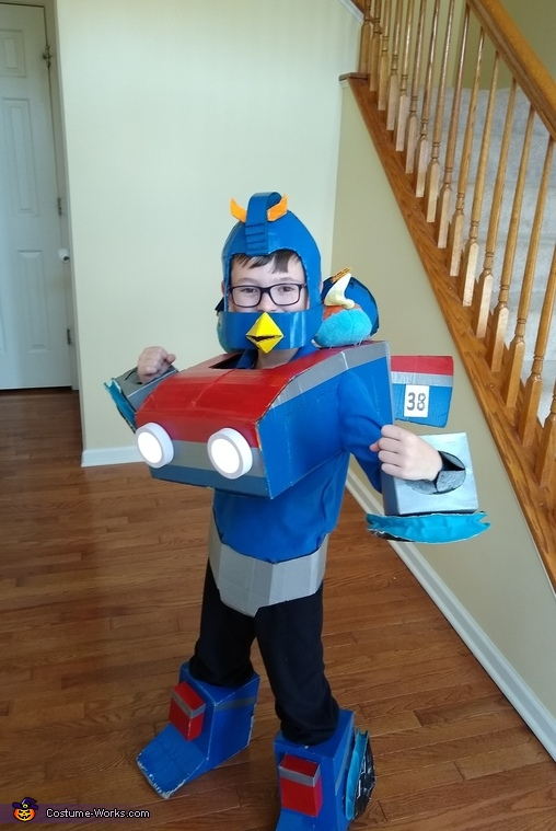 Angry Birds Transformer Smokescreen Costume