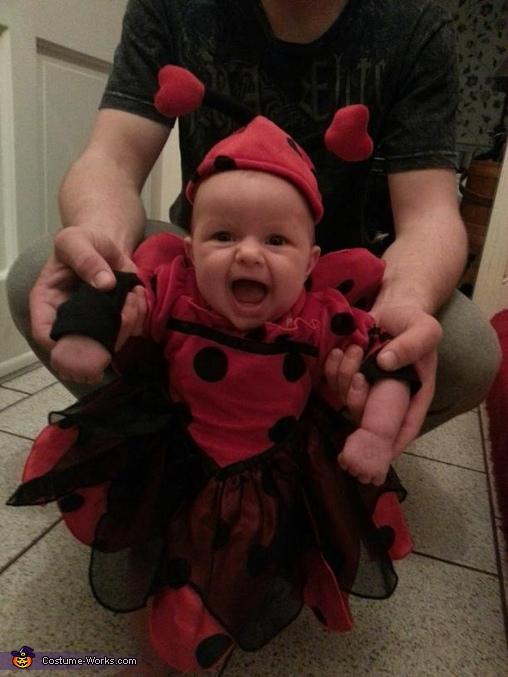 Angry Ladybug Baby Costume