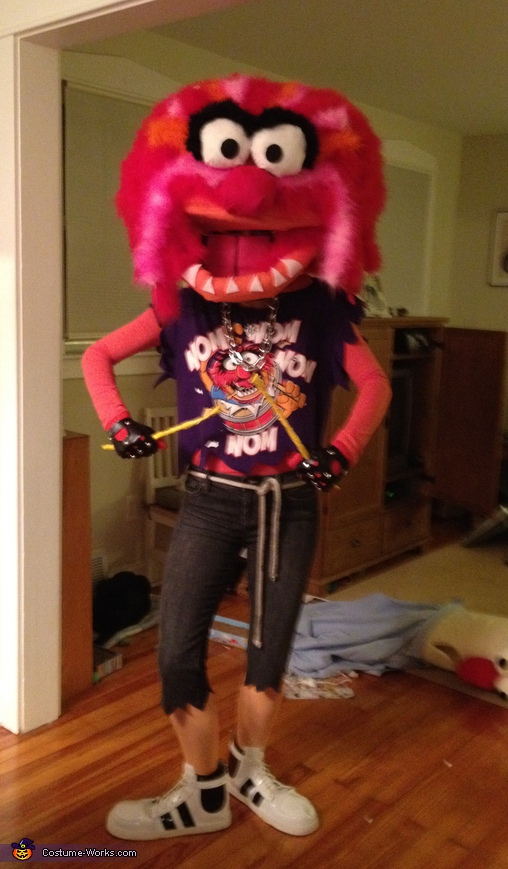 Animal from the Muppets - Homemade costumes for adults