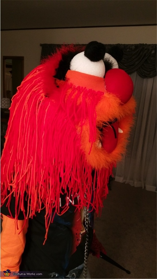 Animal from the Muppets Homemade Costume