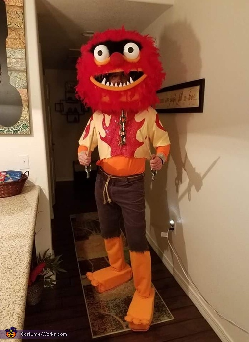 Animal from the Muppets Costume