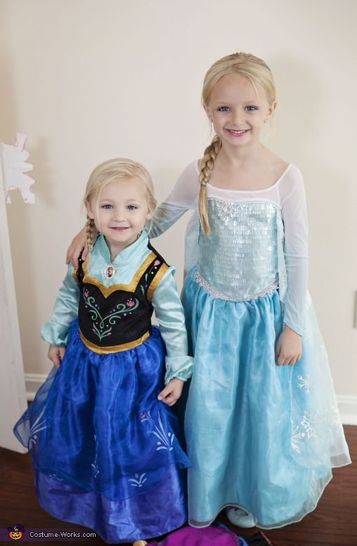 Frozen Anna and Elsa Costume