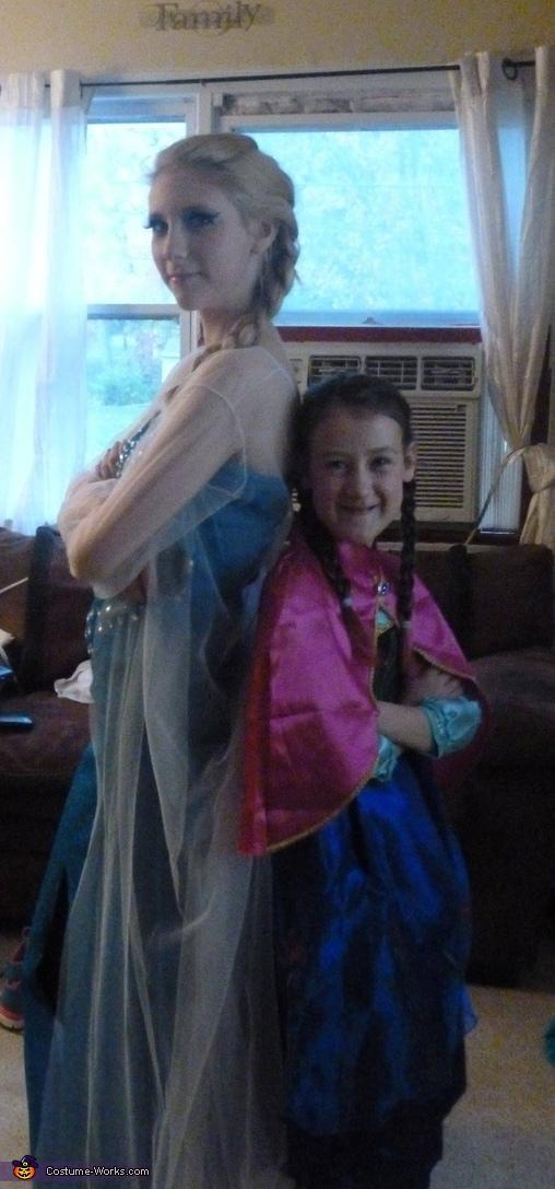 Photo 2, Anna and Elsa Costume