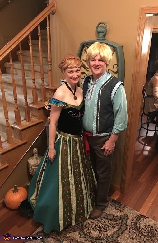 Anna and Kristoff Costume