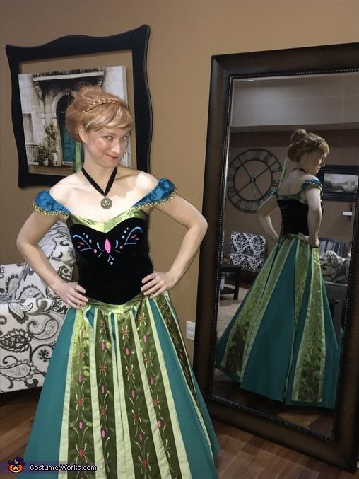 Anna and Kristoff Homemade Costume