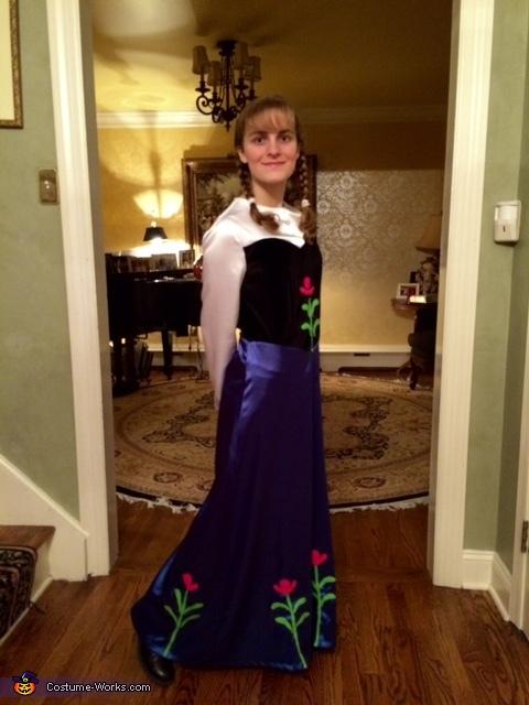 Anna's Dress, Anna from Frozen Costume