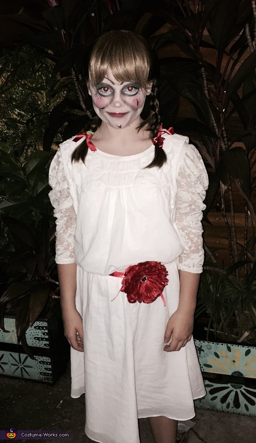 annabelle girls costume