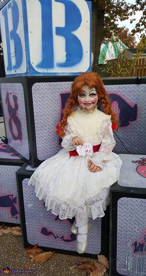 Annabelle Homemade Costume