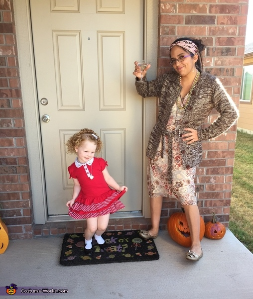 Annie and miss Hanigan , Annie and Friends Costume