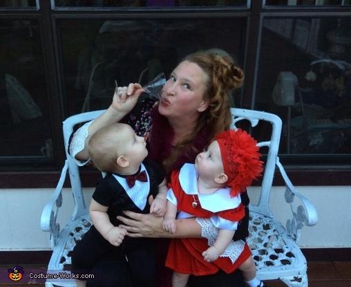 Annie, Daddy Warbucks and Miss Hannigan Costume