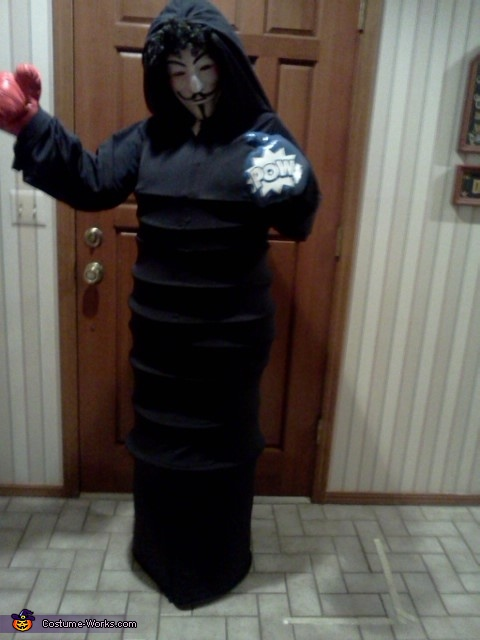 Anonymous Freedom Fighter Homemade Costume