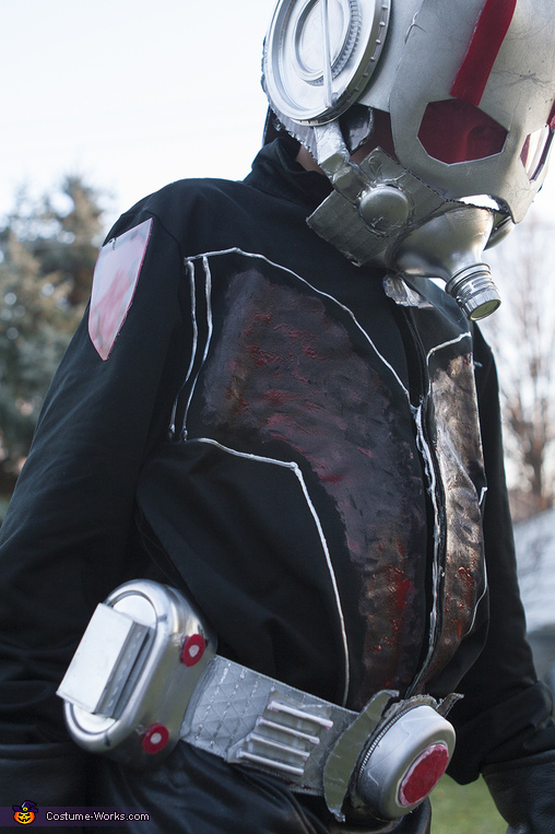 Ant Man Handmade: belt and jacket, Ant Man Costume