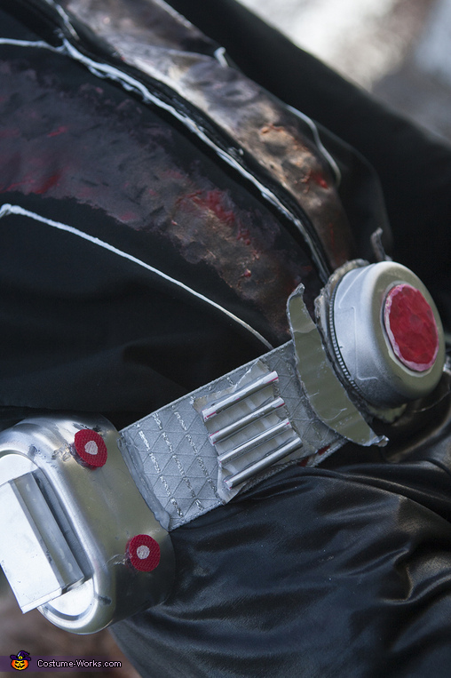 Ant Man Handmade: belt close up, Ant Man Costume