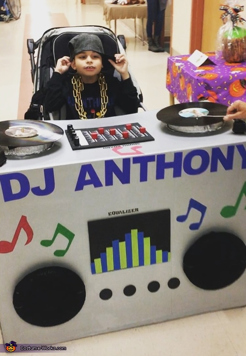 Anthony's Dj Booth Costume