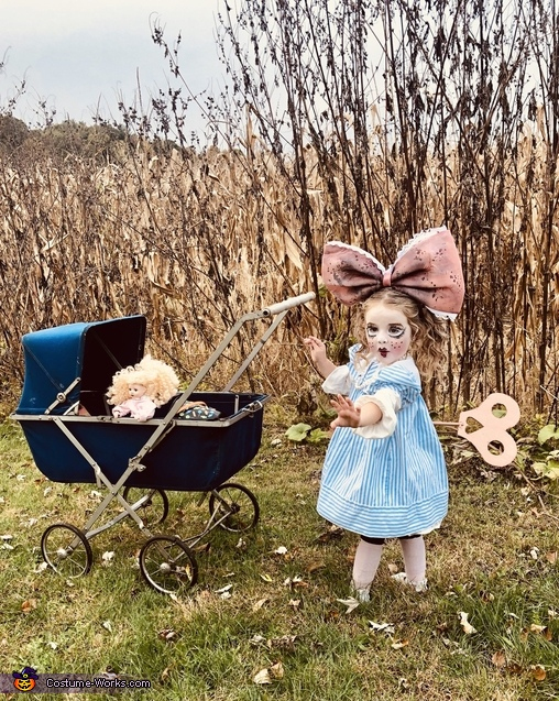 Antique Wind Up Doll Costume